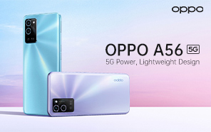 OPPO A56 5G Debuts with MediaTek Dimensity 700, 5,000 mAh Battery, and Dual Cameras