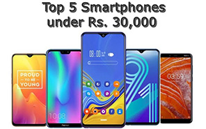 Top 5 smartphones under Rs. 30,000 that you should definitely check out!