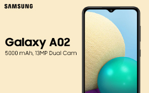 Samsung Galaxy A02 Quietly Unveiled; An Entry-level Handset With 64GB Storage and 5,000mAh Battery