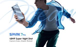 Tecno Spark 7 Pro Price in Pakistan Unveiled; 90Hz Screen, 5000 mAh Battery, Helio G80, & 48MP main Camera