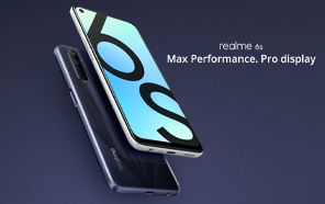 Realme 6s Goes Official with a 90Hz Display, 48MP Quad Cameras, a Gaming Chip, and More