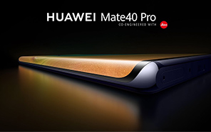 Huawei Mate 40 Pro Screen Protector Shows a Waterfall Design and Narrow Bezels