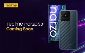 Realme Narzo 50A Featured in a High-quality Press Image; Shows a Radical Design Change
