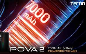 Tecno POVA 2 with 7,000mAh Battery - The Perfect Gaming Partner
