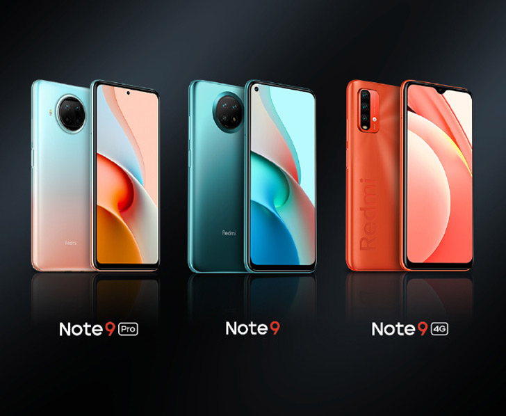 Xiaomi Redmi Note 9 Pro 5g Redmi Note 9 5g And Note 9 4g Unveiled New Design 108mp Camera And 120hz Screen Whatmobile News
