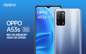 Oppo A53s 5G Launches Globally with an Entry-level Dimensity 700 Chipset and Budget Features