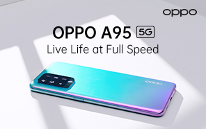 Oppo A95 5G Debuts with a 5G Chip, Sleek Design, OLED Screen, and 30W Fast Charging