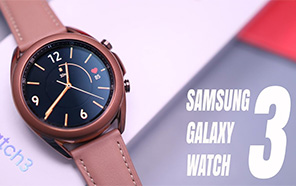 Samsung Galaxy Watch 3 Featured in an Unboxing Video; Specification Sheet and Renders Leaked