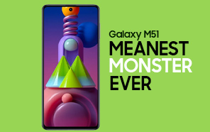 Samsung Galaxy M51 Teaser Hints at a Monstrous Battery; Samsung's First 7,000 mAh Phone?