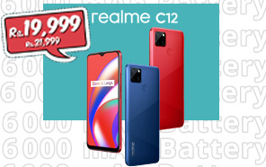 Realme C12 Gets a Price Cut in Pakistan; Now Available at an Amazing Discount of Up to Rs. 2,000