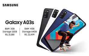 Samsung Galaxy A03s Launches in Pakistan Featuring Long-lasting Battery and Fingerprint Support