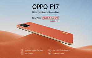 Oppo F17 Price in Pakistan Cut by Rs 2,000; Now Available at a New Price of Rs 37,999