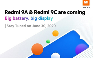 Xiaomi Redmi 9A and Redmi 9C to Debut Globally on June 30, Xiaomi Announces on its Social Media