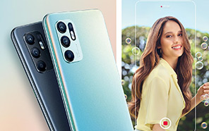 OPPO Reno 6 4G Makes its Global Debut Featuring Qualcomm Silicon and 44MP Selfie Camera