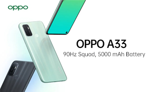 OPPO A33 Unveiled with a 90Hz Display, Snapdragon 460, and a 5,000 mAh Battery