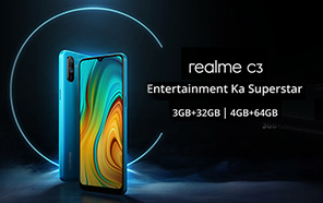 Realme C3 launching on 6th of February with 5,000mAh battery and a MediaTek processor