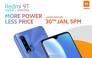 Xiaomi Redmi 9T 6GB Edition is Launching in Pakistan Today; Rich in Features, Low in Price