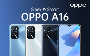OPPO A16 Featured in High-quality Press Renders Ahead of Launch; Color Options and Design Leaked