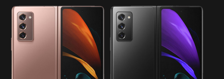 Samsung Galaxy Z Fold 2 5G Featured in Leaked Press Renders Ahead ...