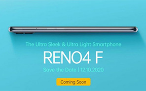 Oppo Reno4 F Teased to Arrive Soon; Features a Sleek Design and a Focus on Portrait Photography
