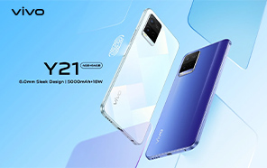 Vivo Y21 Rolling Out to More Global Markets; Entry-level Specs and a Budget-friendly Price