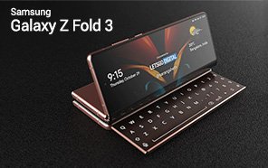 Samsung Galaxy Z Fold 3 Will Have a Sliding Keyboard and Two Hinges, Reports a New Leak
