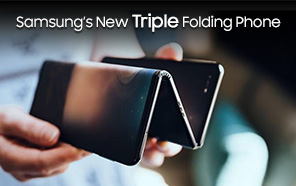 Samsung Teases a Triple Folding Design; the Next Galaxy Z Fold Allegedly Unfolds into a Z-shape