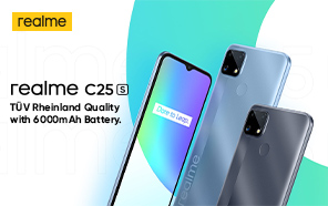 Realme C25s Goes Official with a New Chip and High-resolution Camera; Coming Soon to More Markets