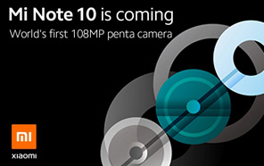 Xiaomi Mi Note 10 is coming with World's 1st 108MP Penta camera, also known as Mi CC9 Pro (in China)